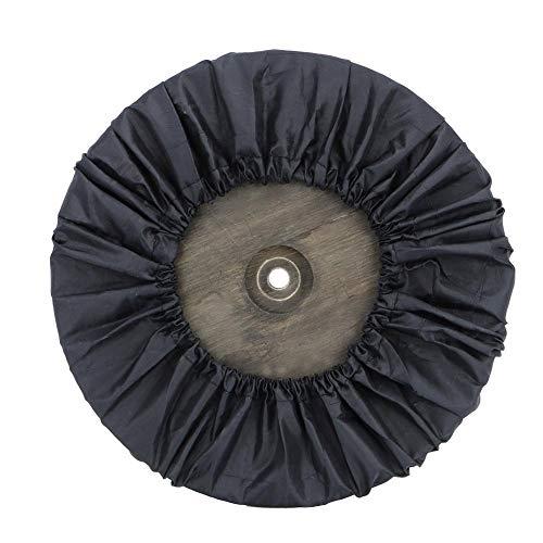 Matériau de qualité supérieure en dacron Housse de roue de poussette durable et non toxique Finition fine Compact de haute qualité avec Velcro étroitement amovible pour(Big wheel)