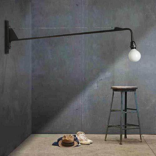 Loft Jean Prouve Esszimmer Wandleuchte Retro lange Armleuchten Industrie Bar/Cafe/Designer Licht mit LED-Lampen