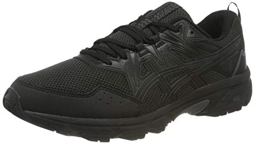 Asics Gel-Venture 8, Trail Running Shoe Hombre, Black Black, 42.5 EU