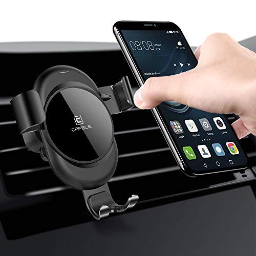 Handyhalterung Auto für Auto Lüftung, Cafele Auto Handyhalter Schwerkraft Universal KFZ Handyhalterung 360°Drehbar für iPHONE iPhone XS MAX/XS/XR/X/8/7/6 Samsung Galaxy Samsung Note Huawei LG HTC usw