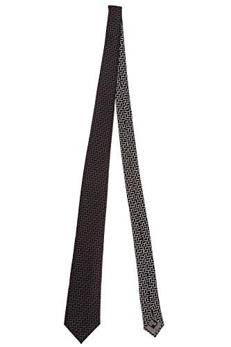 Emporio Armani cravatta uomo nero