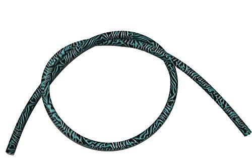 Caesar Shisha Army Silikonschlauch | 1,50 m | für Alle Wasserpfeifen | Flexibel und Robust (Inka)