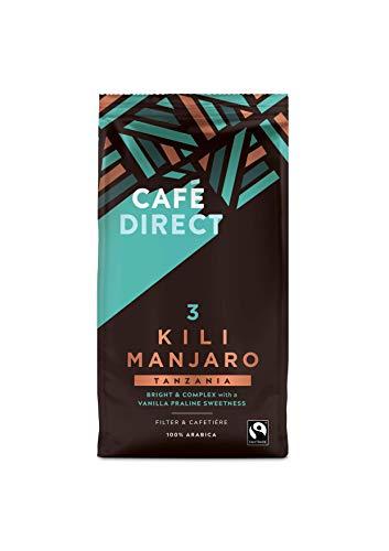 Cafédirect Kilimanjaro Tanzania Fairtrade Ground Arabica Coffee 227g (Pack of 6)