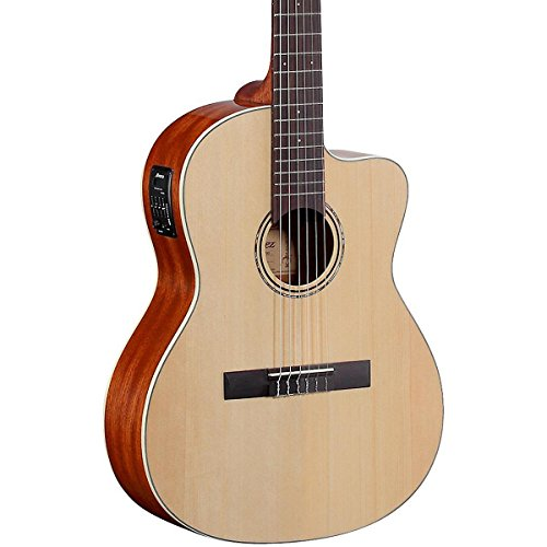 Alvarez - Guitarra acústica RC26HCE con funda incluida, color madera natural