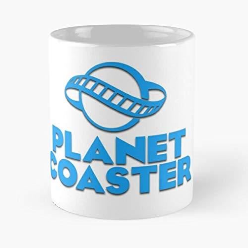 Planet World Roller Rollercoaster Theme Tycoon ParkMigliore Tazza da caffè Regalo 11 oz