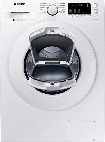 Samsung WW90K4420YW I EG AddWash Waschmaschine Frontlader I A+++ I 1400 U/min I 9 kg I Weiß I AddWash, Eco-Funktion, SmartCheck