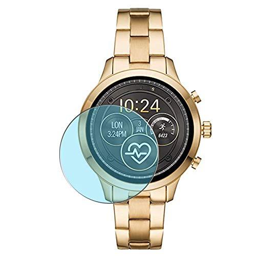 Vaxson 3-Pack Anti Luce Blu TPU Pellicola Protettiva, compatibile con Michael Kors MKT5045 smartwatch, Screen Protector Film [ Non Vetro Temperato ]
