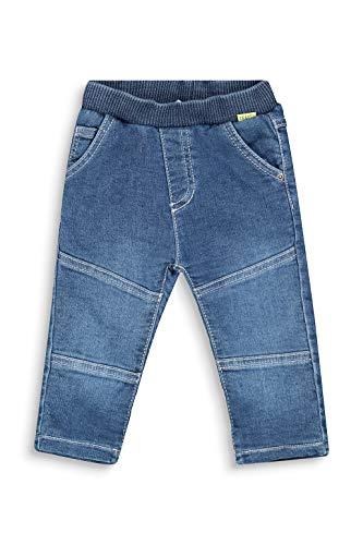 ESPRIT Baby-Jungen Jeanshose Hose, Blue medium wash Blue, 80