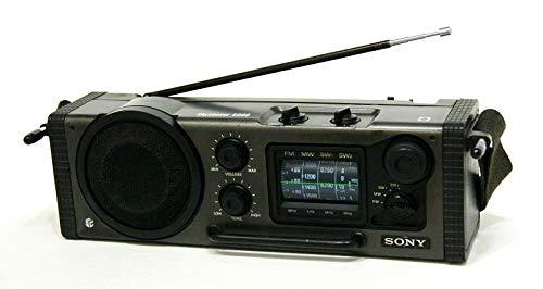 SONY ソニー ICF-6000 スカイセンサー 4バンドマルチバンドレシーバー FM/MW/SW1/SW2 (FM/中波/短波ラジオ)