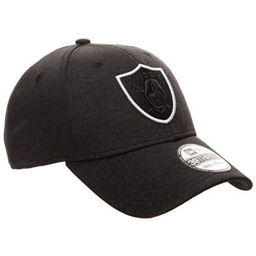 New Era 39THIRTY NFL Las Vegas Raiders Shadow Tech Cap nero/bianco, M/L