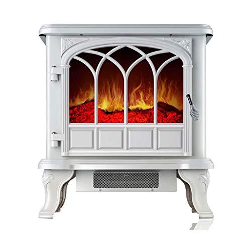 WDX- Chauffage Chauffage cheminée Chaleur Chaud Simulation Flamme Gril poêle électrique Chauffage Chaleur Rapide