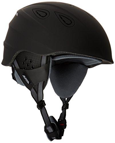 Alpina Erwachsene Skihelm Grap 2.0, Black Matt, 57-61 cm, 9085330