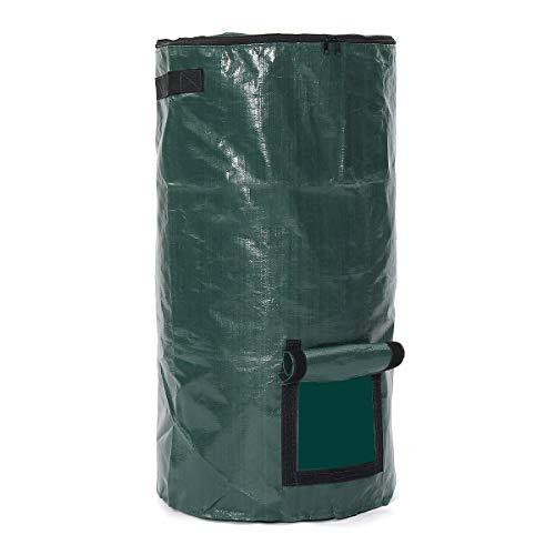 Robasiom Bio-Komposter Müllbeutel, Kompostaufbewahrung, Gartendünger, 45 x 80 cm