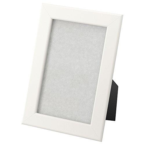 IKEA fiskbo Cadre en blanc; (10x 15cm)