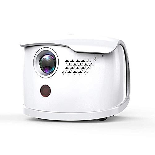GaoF Proiettore WiFi, Mini Proiettore Wireless LED 2000 Lumen Videoproiettore Cinema Portatile 1080p HD, Telecomando Vocale, Supporto Hdmi, Vga, Av, USB, SD, TV