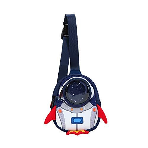 Un Hombro Bolsa Bandolera Bolsa de Playa Señorita Vacaciones Bolsa de lmacenamiento Bolsa de Compras Bolsa de Viaje Niño Niña Bolso Crossbody Azul