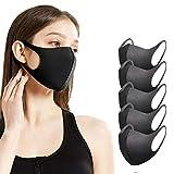 sb components Anti-Staub-Maske Gesichtsmaske Mundmaske, Mode Wiederverwendbar Waschbar Outdoor Unisex Maske, Anti-Verschmutzung Gesichtsmaske (5)