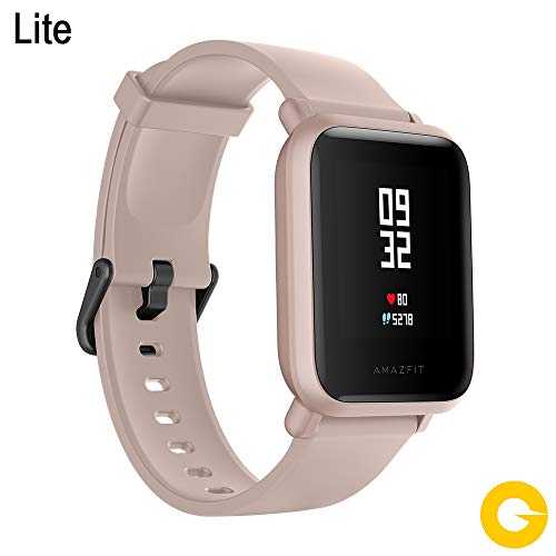 Amazfit Bip LITE SmartWatch Xiaomi Activity Marine Monitors Gym Resistant 30 meters Pulsometro iOS & Android Sports Mode (International Version ...