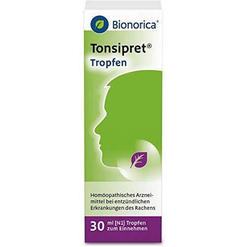 Tonsipret Tropfen bei entzündlichen Erkrankungen des Rachens, 30 ml Lösung
