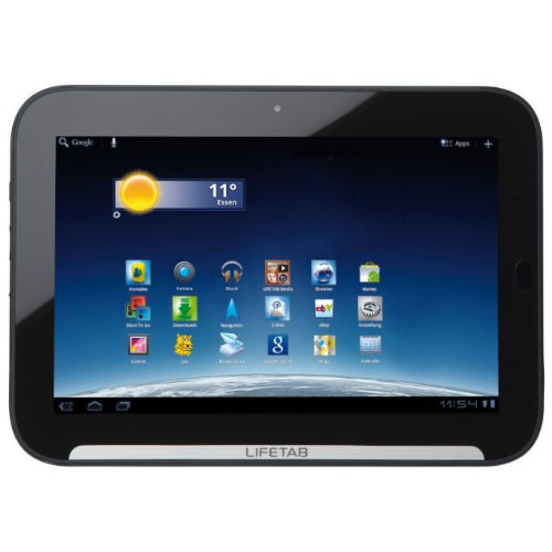 Medion Lifetab P9516 25,4 cm (10 Zoll) Tablet-PC 3G (NVIDIA Tegra 2 Dual-Core-Prozessor, 1GB RAM, 32GB eMMC, Update auf Android 4.0) schwarz
