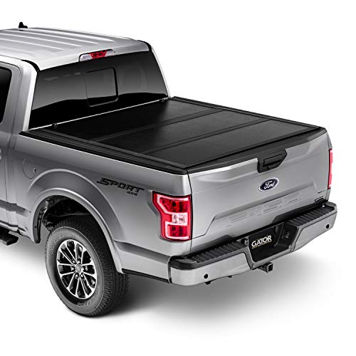 "Gator EFX Hard Tri-Fold Truck Bed Tonneau Cover | GC24002 | Fits 2004-2014 Ford F-150 5' 5"" Bed 