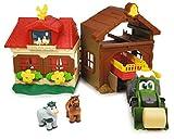 Dickie- Happy Farm Granja 49 cm con Sonido y Tractor y Animales,...