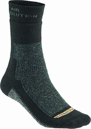 Meindl Unisex 9673-01 Revolution Pro Socken, Schwarz Anthrazit, 36-39