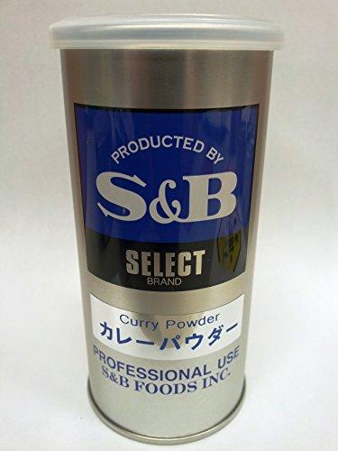 S&B 【セレクトスパイス】カレーパウダーマイルド (400g(L缶))
