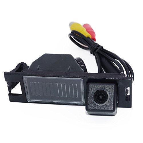 HDMEU Vision Nocturne Caméra de Recul pour Voiture, Arrière-vue Du Véhicule Aide Au stationnement Plaque D'immatriculation avec LED pour Hyundai IX35 MK2 2009~2016