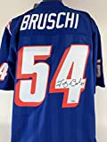 Tedy Bruschi Signed Autographed M&N 1996...