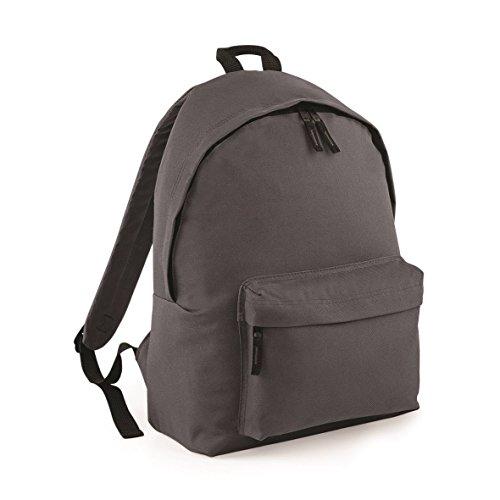 Bagbase Fashion Rucksack, 18 Liter One Size,Grau