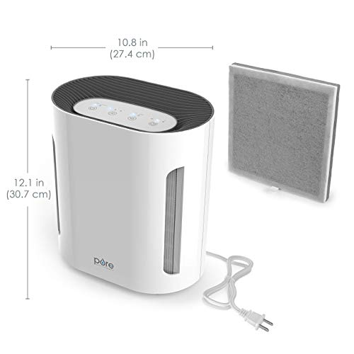 Our #1 Pick is the Pure Enrichment Purezone Air Purifier for Cigarette Smoke
