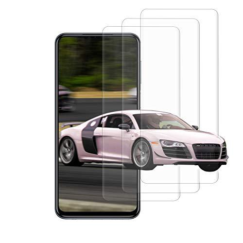 [3 Stück] Panzerglas Schutzfolie für Xiaomi Mi 9T / 9T Pro, (2.5D)(0.33mm) HD klar gehärtetes Glas, Kratzfest, Anti-Schaum, Full Cover Schutz Displayschutz, Einfacher Montage - Transparent