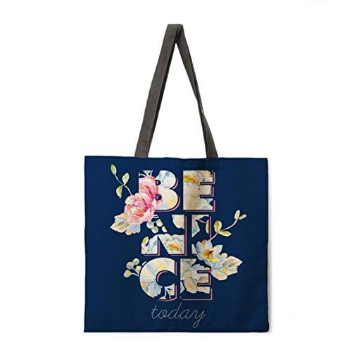 keke Folding shopping bag green plants lady shoulder bag female leisure handbag outdoor beach bag female tote bag,4