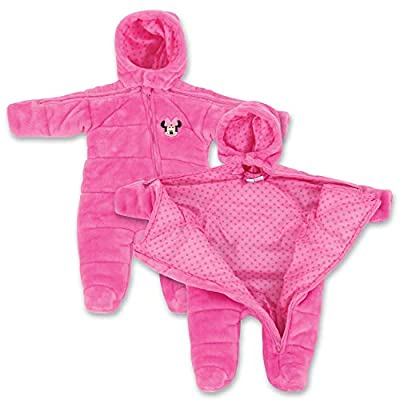 Infant Newborn Minnie Mouse EZ Off Jacket - Pink 24 Months