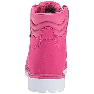 Lugz Women's Grotto II Fashion Boot, deep Pink/White, 8 M US