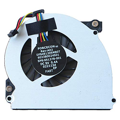 KEMENG Laptop Replacement Cooler Fan For HP EliteBook 2560 2560p 2570p Original CPU Cooling Fan 6033B0024501 651378-001