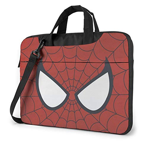 SPI-Der-Man Laptop Bag 13 Inch 14 Inch 15.6 Inch Computer Sleeve Carrying Laptop Case Waterproof Work Business Messenger Shoulder Bag Tablet Handle Case for Notebook