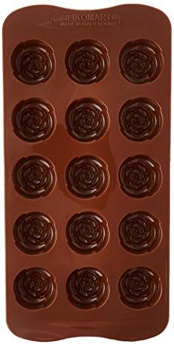 Silikomart Silicone Easy Chocolate Mold, Rose
