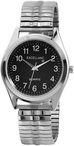 Excellanc Herren-Uhren mit Metallzugband 270021000007
