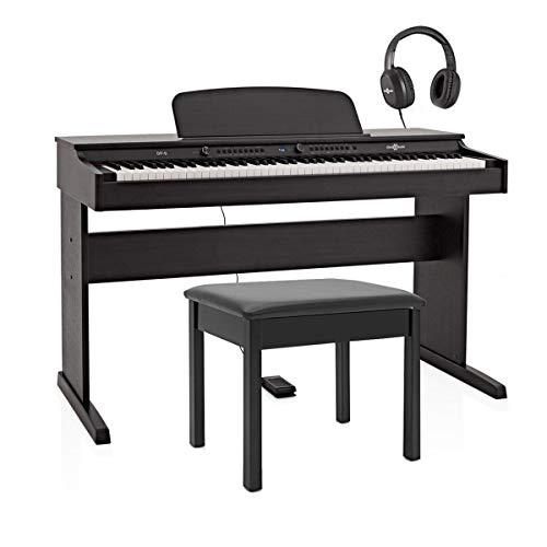 DP-6 Digitalpiano von Gear4music mit Klavierbank