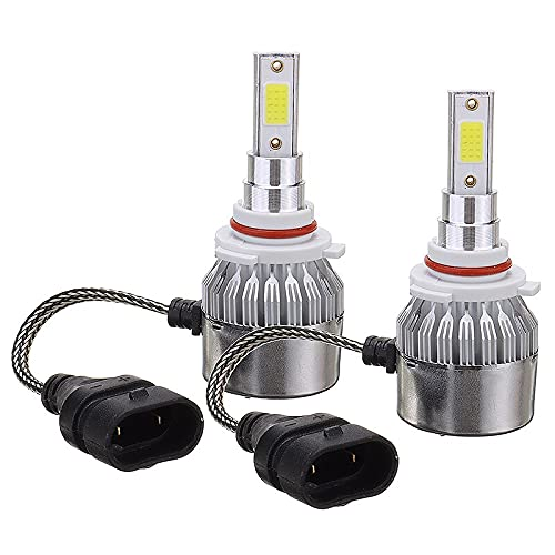 youyu6-2o521 Kit de Bombillas LED para Coche 1 Juego DIRIGIÓ Light Light High Beam Fog Bulbos de luz de Niebla Reemplazo dedicado para Honda Civic 2006-2015 para reemplazar la lámpara