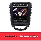 KJHGYU Vertikal Bildschirm Tesla Stil 10,4 '' Android 9.0 Autoradio Kompatibel Opel Astra J 2009-2015 Car Multimedia DVD-Navigation,Androidcarradio16gb