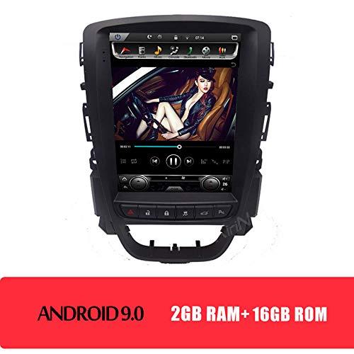 KJHGYU Vertikal Bildschirm Tesla Stil 10,4 \'\' Android 9.0 Autoradio Kompatibel Opel Astra J 2009-2015 Car Multimedia DVD-Navigation,Androidcarradio16gb