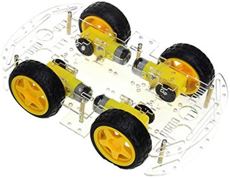 Baosity 4WD Robot Car Kit WiFi APP Controlled Remote Control Smart Robot Car Multi Functional Smart Car DIY
