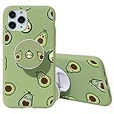 Yoedge Funda para Apple iPhone 7 Plus, 3D Cárcasa Apoyo Soporte esférico Silicona de Verde con Diseño Dibujos Suave TPU Animados Patrón Case Cover Fundas para Movil iPhone 7 Plus / 8 Plus 5,5', 15