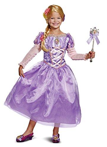 Disney Princess Rapunzel Tangled Deluxe Girls' Costume