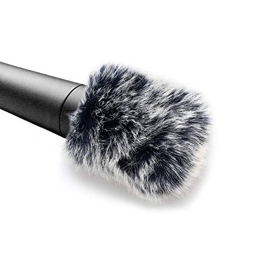 YOURSHARES Shure SM57 Microphone Windscreen Muff Windjammer Pop Filter - Mikrofon Fell Windschutz Pop-Schutz für Shure SM-57 Dynamische Instrumenten Mikrofon