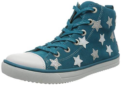 Lurchi Starlet, Baskets Hautes, Bleu Deep Ocean 72, 27 EU