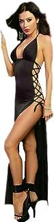 Ashly Lingerie Satin/chiffon Lingerie Dress For Women